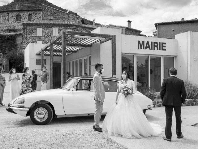 Le mariage de Jonathan et Elodie à Lyas, Ardèche 2