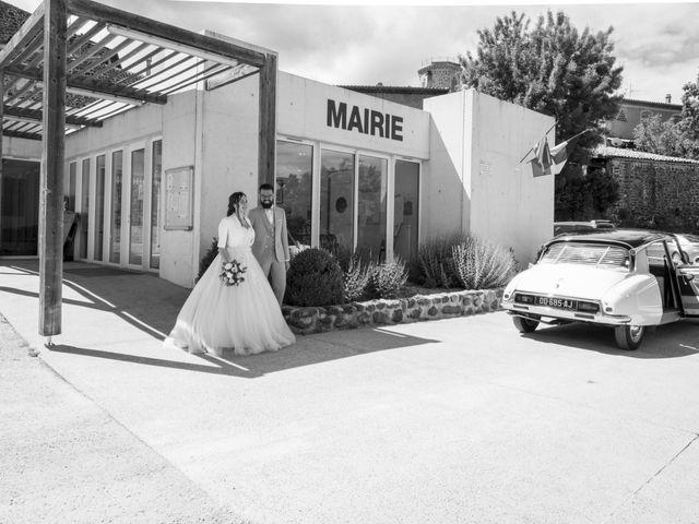 Le mariage de Jonathan et Elodie à Lyas, Ardèche 6