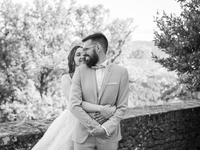 Le mariage de Jonathan et Elodie à Lyas, Ardèche 9
