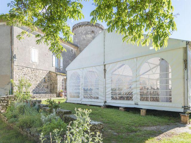 Le mariage de Jonathan et Elodie à Lyas, Ardèche 21