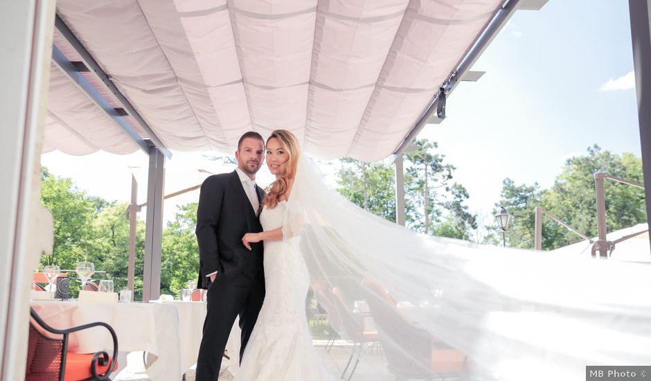 Le mariage de Mathieu et Melissa à Gouvieux, Oise