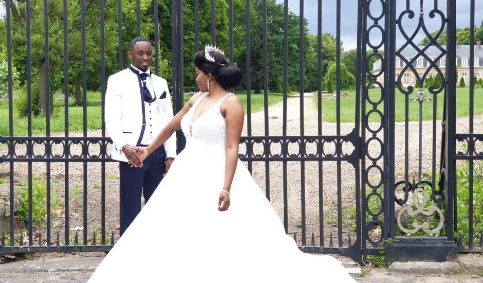 Le mariage de Nseka et Garlonne à Fleury-Mérogis, Essonne