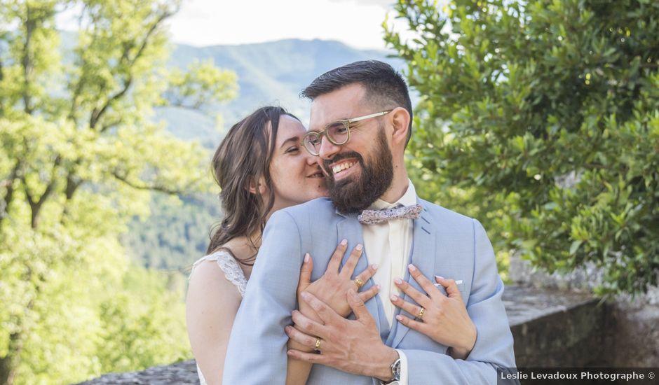 Le mariage de Jonathan et Elodie à Lyas, Ardèche