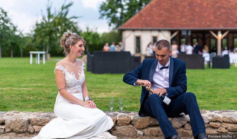 Le mariage de Cyril et Aurore à Vimoutiers, Orne