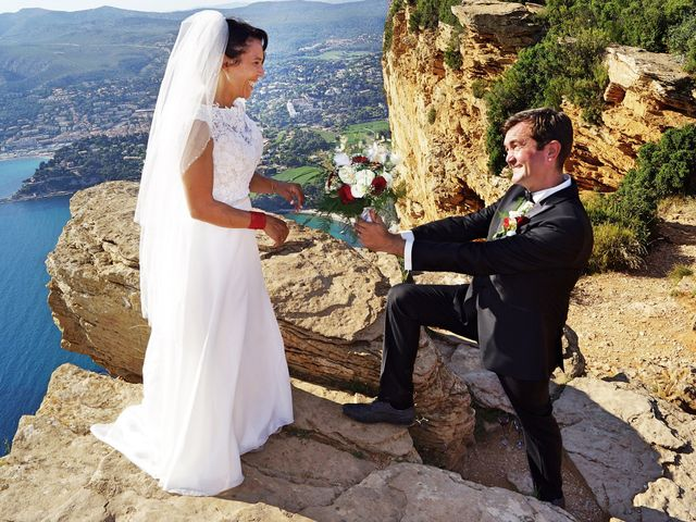 Le mariage de Laurent et Zakia à Cassis, Bouches-du-Rhône 12