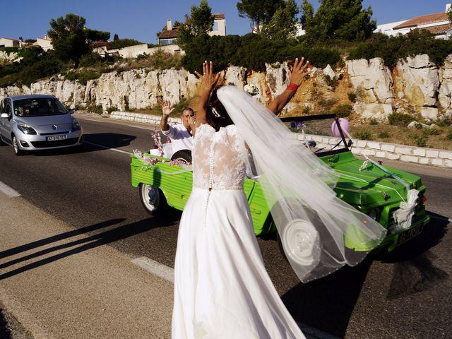 Le mariage de Laurent et Zakia à Cassis, Bouches-du-Rhône 17