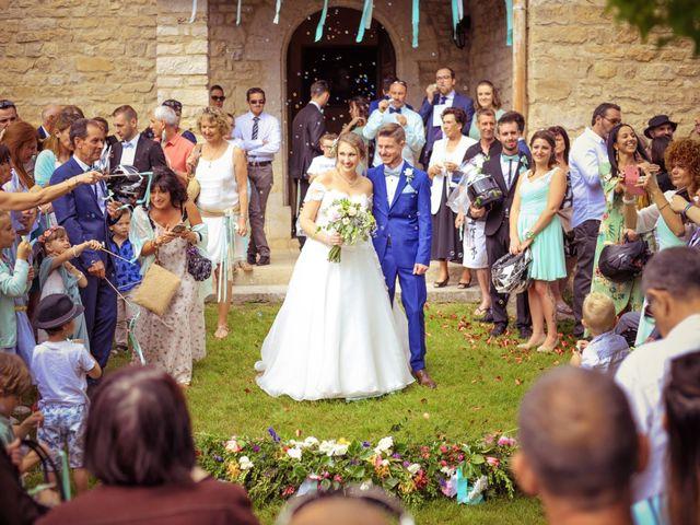 Le mariage de Damien et Marie à Fontienne, Alpes-de-Haute-Provence 35