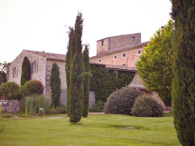 Le mariage de Damien et Marie à Fontienne, Alpes-de-Haute-Provence 45