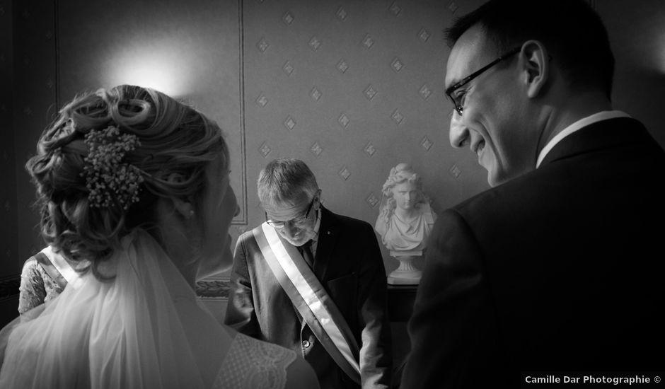 Le mariage de Guillaume et Céline à Viesly, Nord