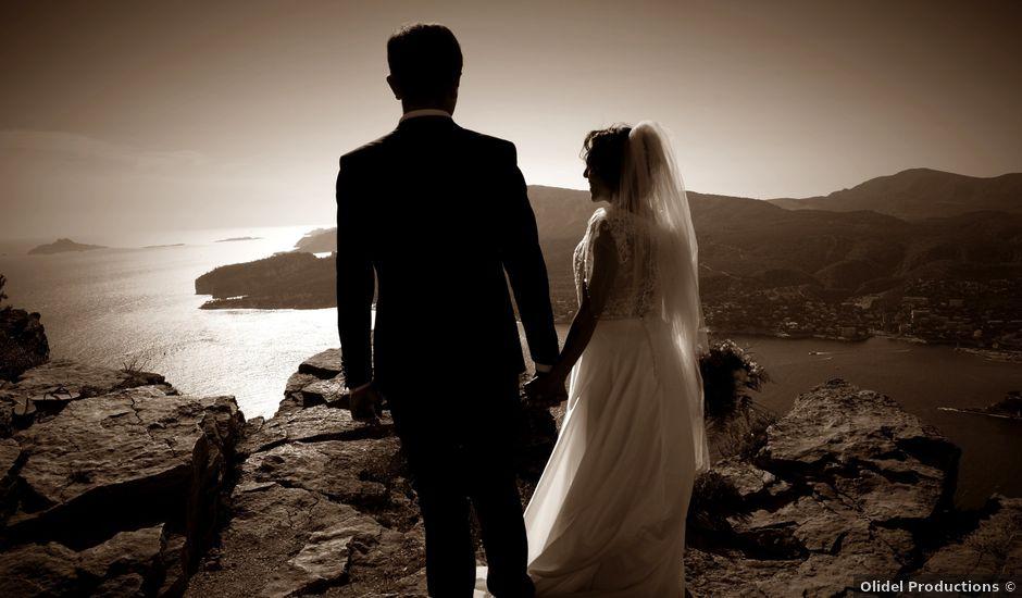 Le mariage de Laurent et Zakia à Cassis, Bouches-du-Rhône