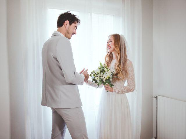 Le mariage de Thierry et Olena à Herblay, Val-d'Oise 14