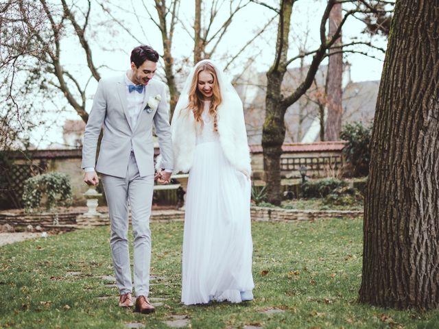 Le mariage de Thierry et Olena à Herblay, Val-d'Oise 56