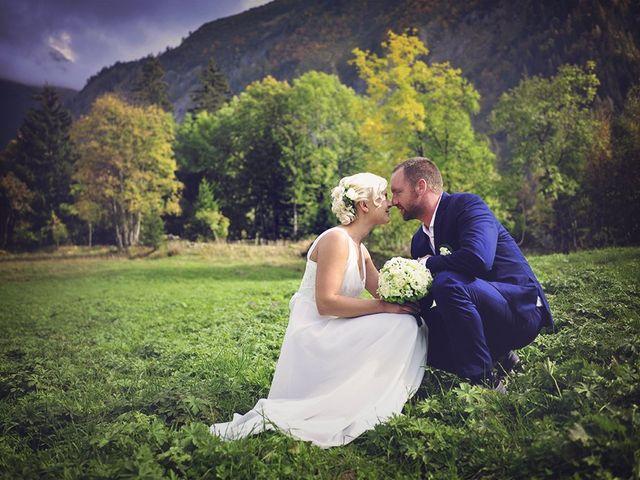 Le mariage de Vincent et Eva à Megève, Haute-Savoie 10