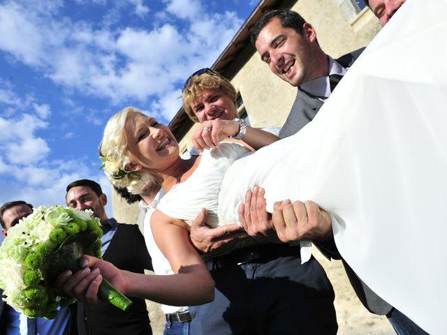 Le mariage de Vincent et Eva à Megève, Haute-Savoie 11