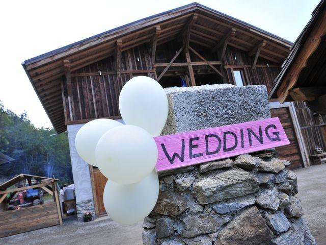 Le mariage de Vincent et Eva à Megève, Haute-Savoie 13