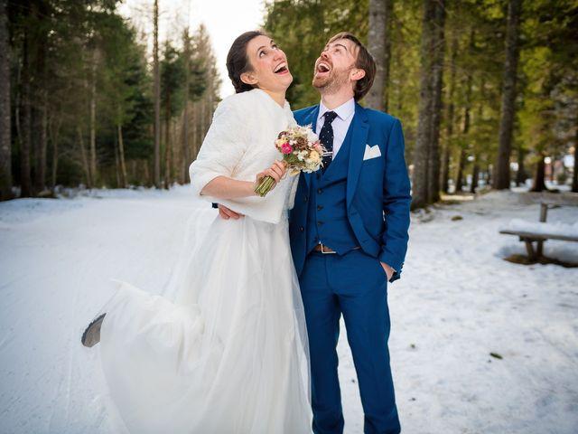 Le mariage de Christophe et Pauline à Chamonix-Mont-Blanc, Haute-Savoie 7
