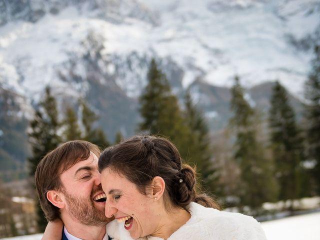 Le mariage de Christophe et Pauline à Chamonix-Mont-Blanc, Haute-Savoie 10