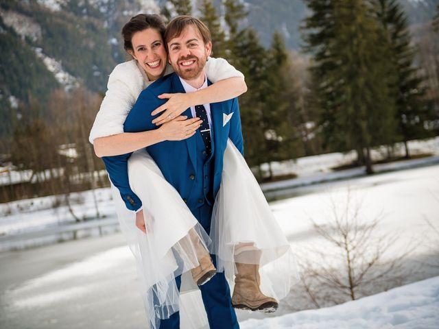 Le mariage de Christophe et Pauline à Chamonix-Mont-Blanc, Haute-Savoie 11
