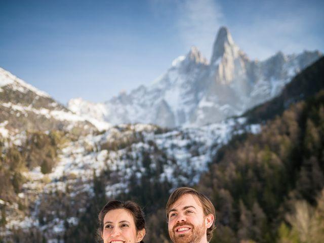 Le mariage de Christophe et Pauline à Chamonix-Mont-Blanc, Haute-Savoie 13