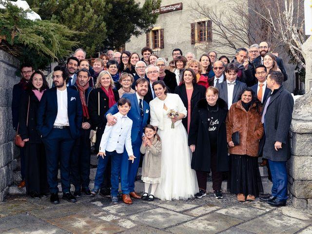 Le mariage de Christophe et Pauline à Chamonix-Mont-Blanc, Haute-Savoie 18