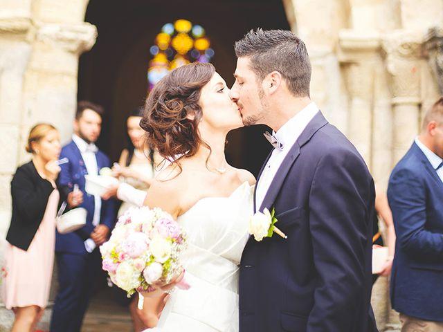 Le mariage de Médéric et Charlène à Foussignac, Charente 7