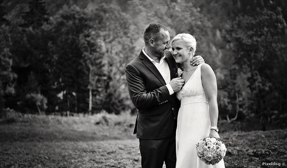 Le mariage de Vincent et Eva à Megève, Haute-Savoie