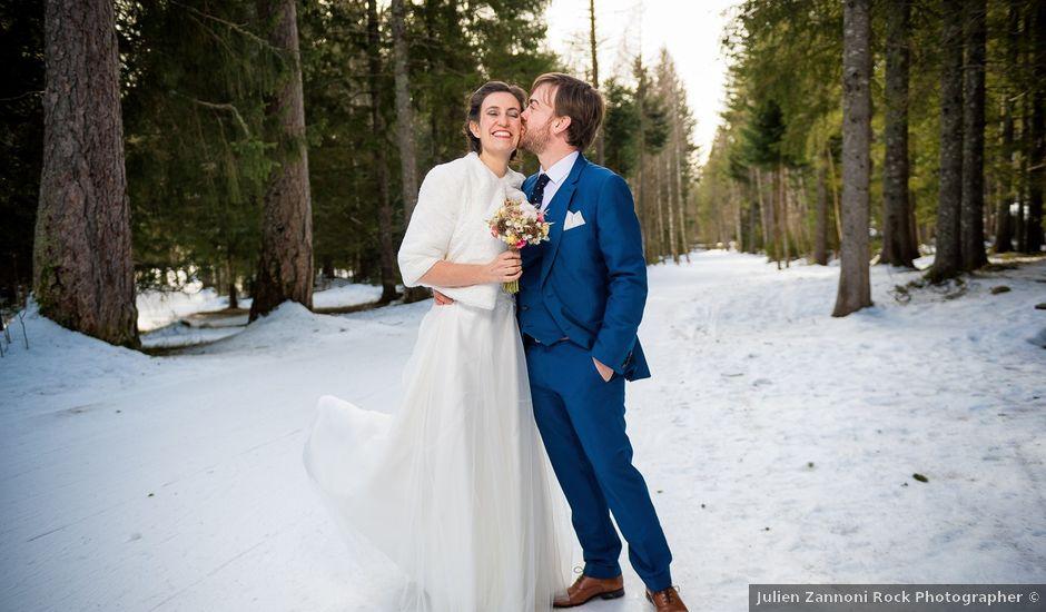 Le mariage de Christophe et Pauline à Chamonix-Mont-Blanc, Haute-Savoie