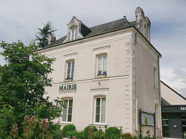 Le mariage de William et Marine à Cantenay-Épinard, Maine et Loire 1