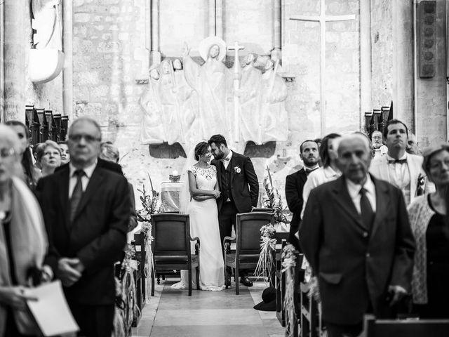 Le mariage de Romain et Estelle à Lamonzie-Montastruc, Dordogne 7