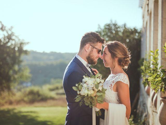 Le mariage de Romain et Estelle à Lamonzie-Montastruc, Dordogne 15