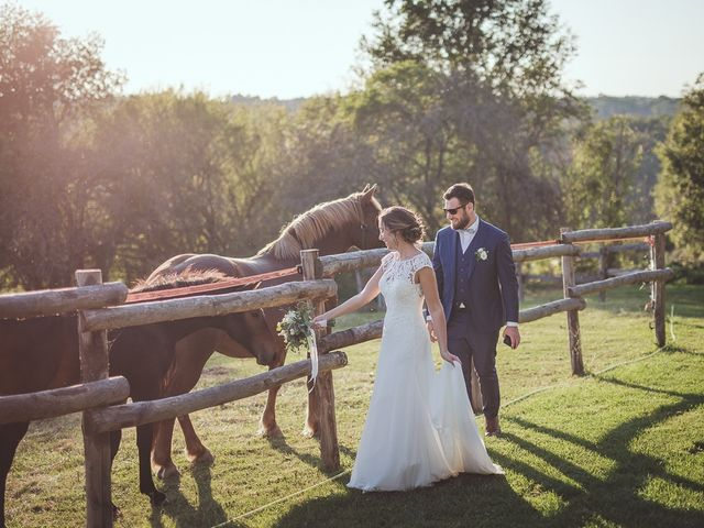 Le mariage de Romain et Estelle à Lamonzie-Montastruc, Dordogne 26