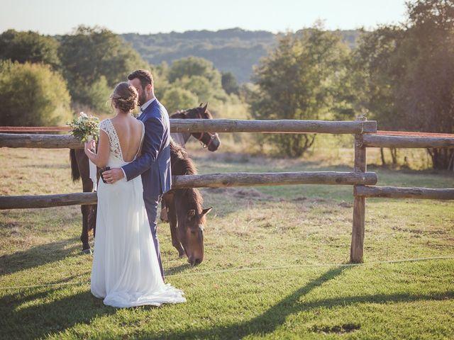 Le mariage de Romain et Estelle à Lamonzie-Montastruc, Dordogne 28
