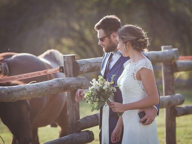 Le mariage de Romain et Estelle à Lamonzie-Montastruc, Dordogne 30