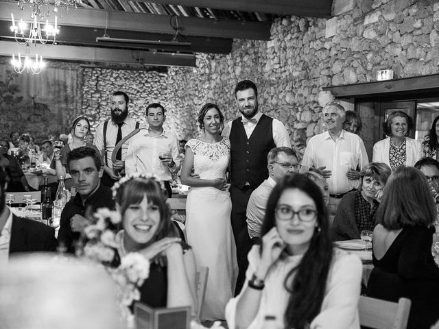 Le mariage de Romain et Estelle à Lamonzie-Montastruc, Dordogne 40