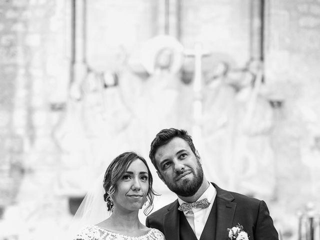 Le mariage de Romain et Estelle à Lamonzie-Montastruc, Dordogne 8