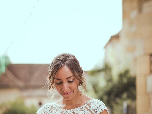 Le mariage de Romain et Estelle à Lamonzie-Montastruc, Dordogne 14