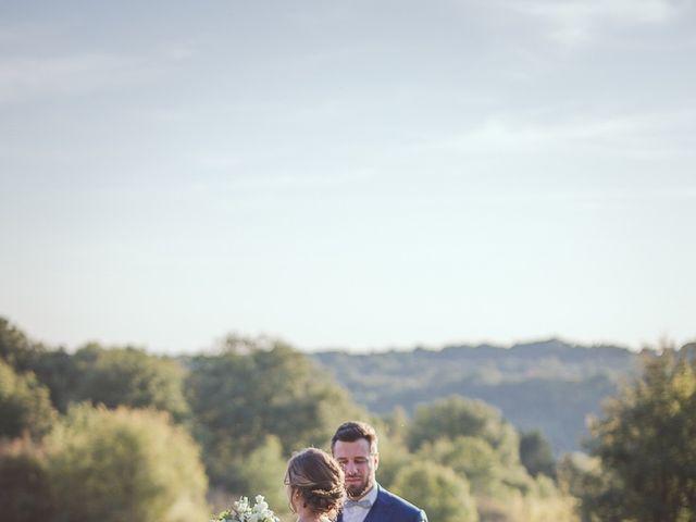 Le mariage de Romain et Estelle à Lamonzie-Montastruc, Dordogne 29