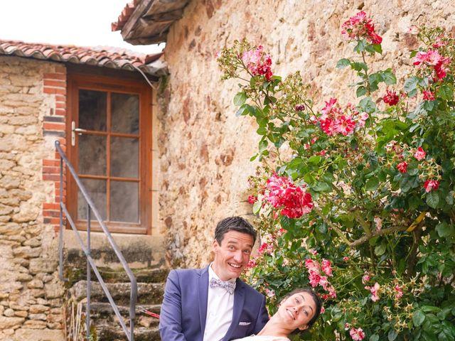 Le mariage de Julien et Mylène à La Fosse-de-Tigné, Maine et Loire 20