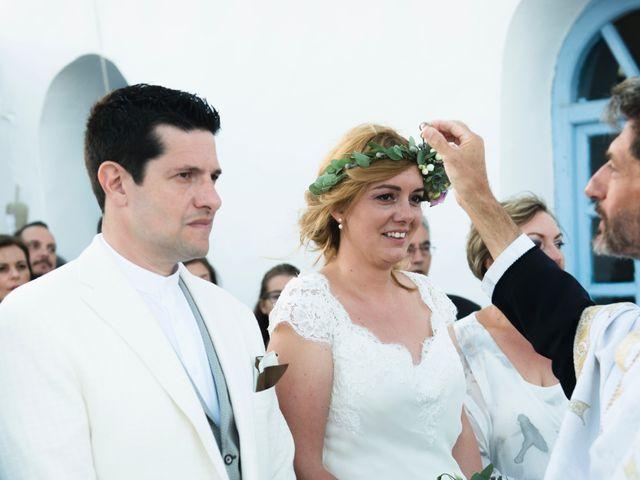 Le mariage de Athina et Manos à Paris, Paris 14