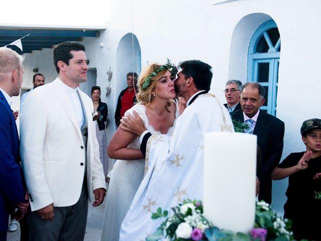 Le mariage de Athina et Manos à Paris, Paris 17
