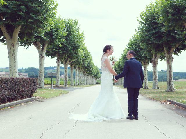 Le mariage de Stéphan et Céline à Saint-Jean-d'Ardières, Rhône 27