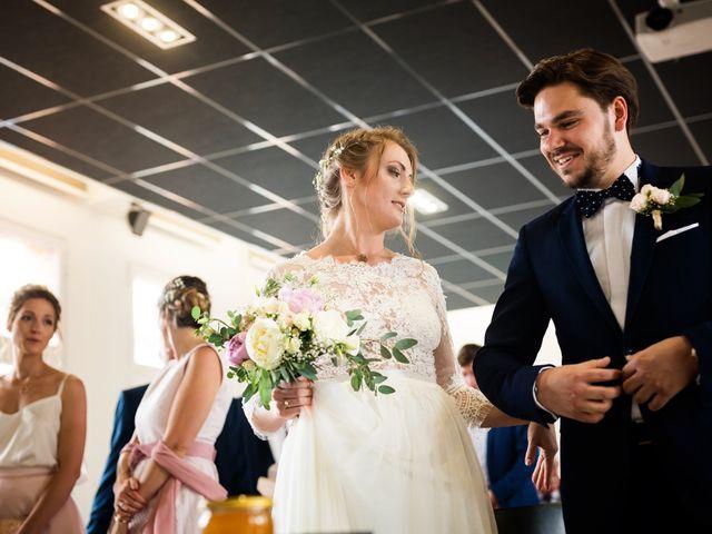 Le mariage de César et Pauline à Marols, Loire 1