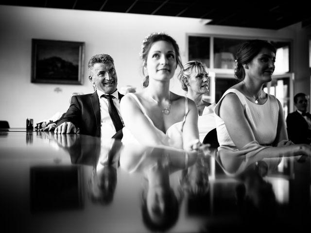 Le mariage de César et Pauline à Marols, Loire 2