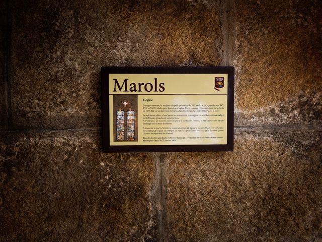 Le mariage de César et Pauline à Marols, Loire 11