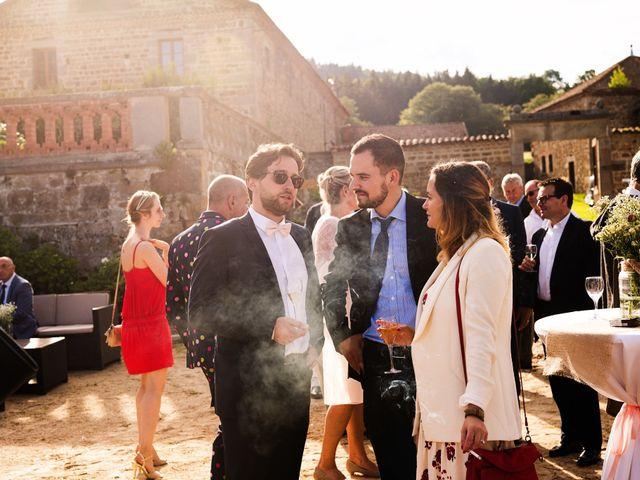 Le mariage de César et Pauline à Marols, Loire 37