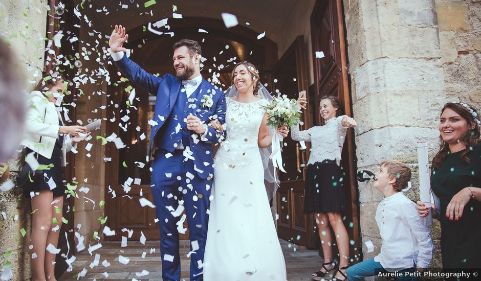 Le mariage de Romain et Estelle à Lamonzie-Montastruc, Dordogne