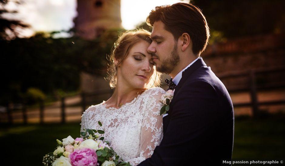 Le mariage de César et Pauline à Marols, Loire