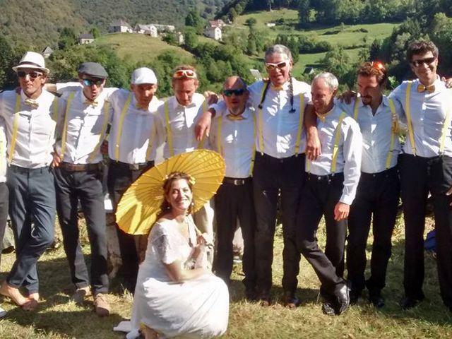 Le mariage de Laurent et Emmanuelle à Alos, Ariège 15