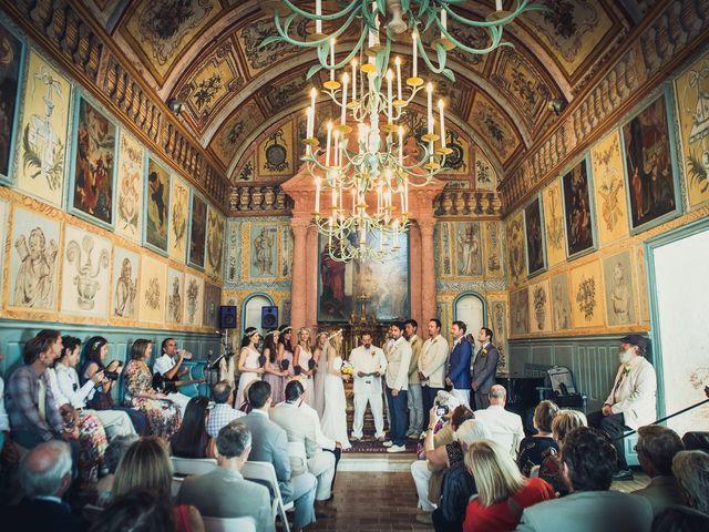 Le mariage de Jean Michel et Sarah à Montauroux, Var 36