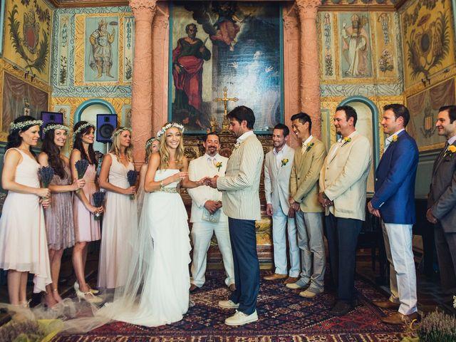 Le mariage de Jean Michel et Sarah à Montauroux, Var 46